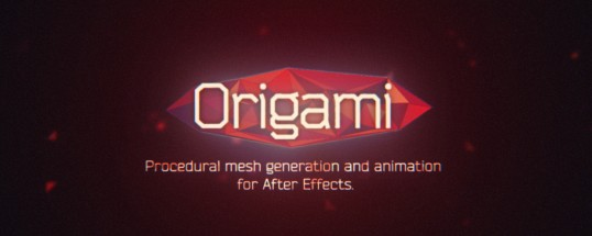 Origami v1.2.4[Aescripts][After Effects][Plugin][WIN][MAC]