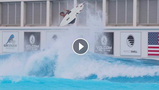 New Japan Pool Massive Ramps Evan Geiselman w PerfectSwell