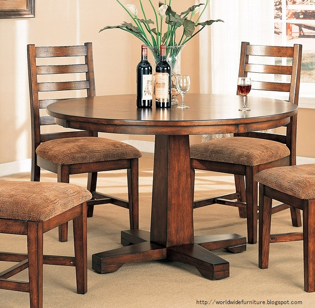 Round Dining Room Tables For 12: All About Home Decoration & Furniture: Round Dining Room