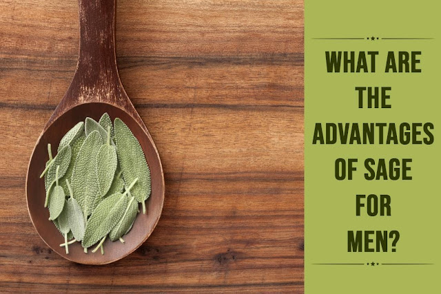What are the advantages of sage for men