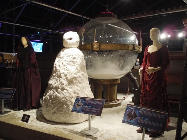 Original Doctor Who Snowmen costumes props