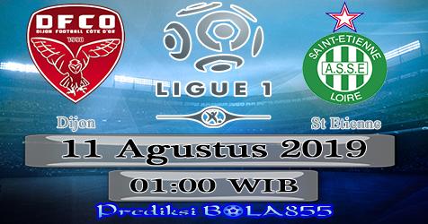 Prediksi Bola855 Dijon vs St Etienne 11 Agustus 2019