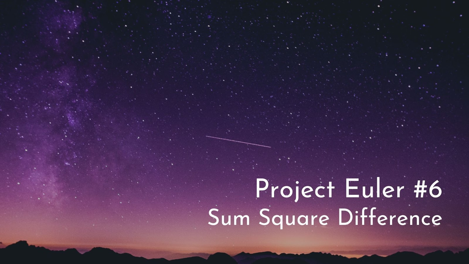 HackerRank - Project Euler #6 - Sum Square Difference