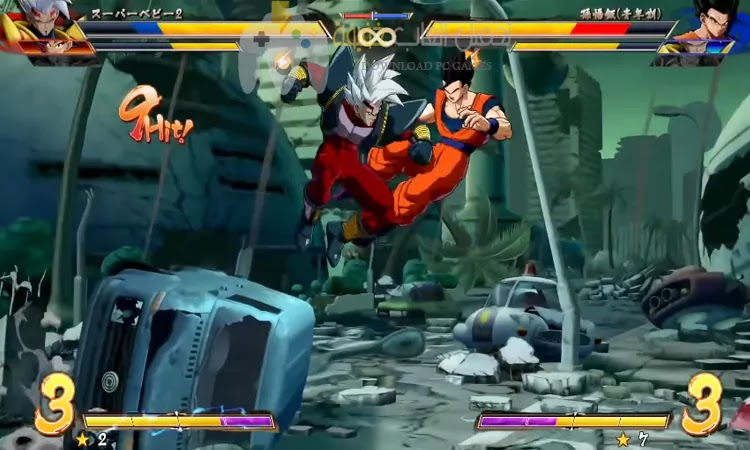 تحميل لعبة Dragon Ball FighterZ للكمبيوتر برابط مباشر بحجم صغير