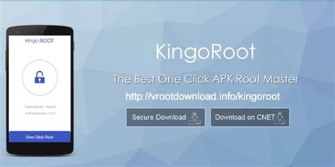 Kingoroot one click root