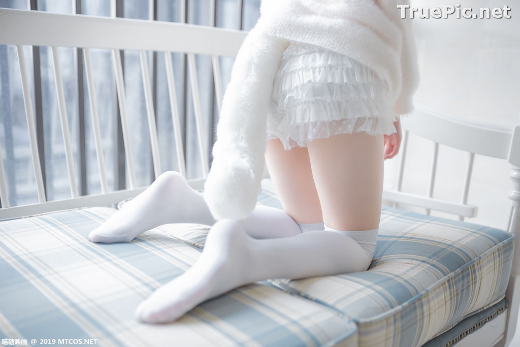 Image [MTCos] 喵糖映画 Vol.027 – Chinese Cute Model – Beautiful White Cat - TruePic.net - Picture-8