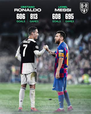 #Lionel #Messi passes #Cristiano #Ronaldo in total club goals.