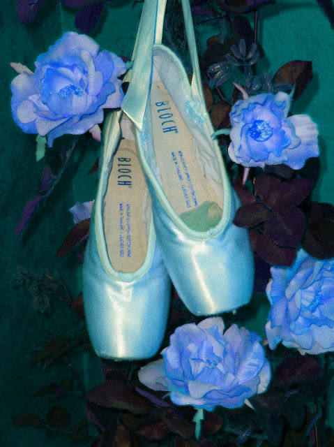 """Dear Ones Healing Ministry: """"Blue Ballet Pointe Shoes ..."""