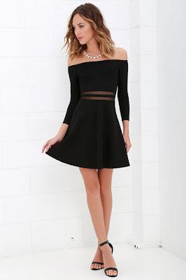 Vestidos de moda negros
