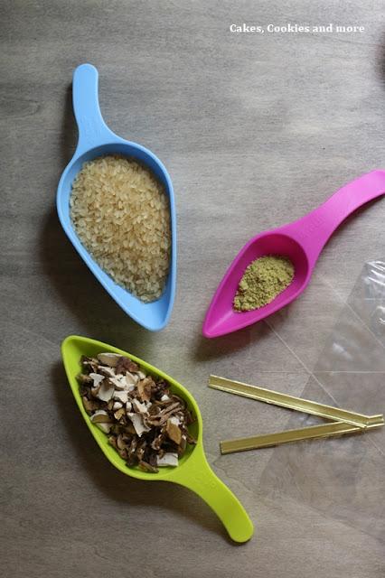 Zutaten für ein Pilzrisotto - Geschenke aus der Küche