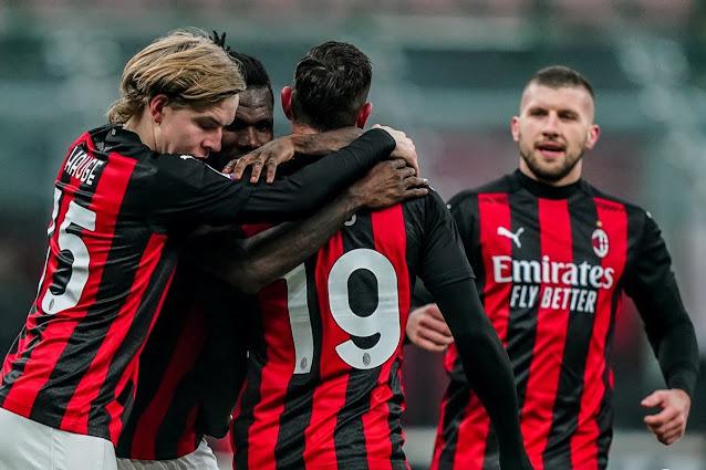 تشكيلة ميلان الرسمية لمواجهة ساسولو اليوم الاحد في الدوري الايطالي