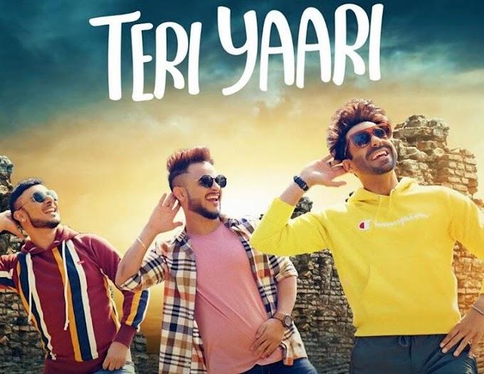 तेरी यारी Teri Yaari Lyrics Hindi English - Milind Gaba | Aparshakti Khurana | King Kaazi