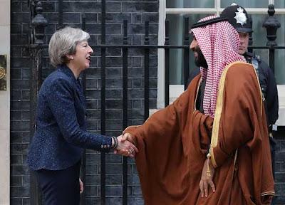 رئيسة وزراء بريطانيا تعتزم لقاء ولي العهد على هامش قمة العشرين