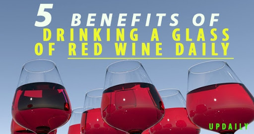 5 Health Benefits of Drinking a Glass of Red Wine Daily