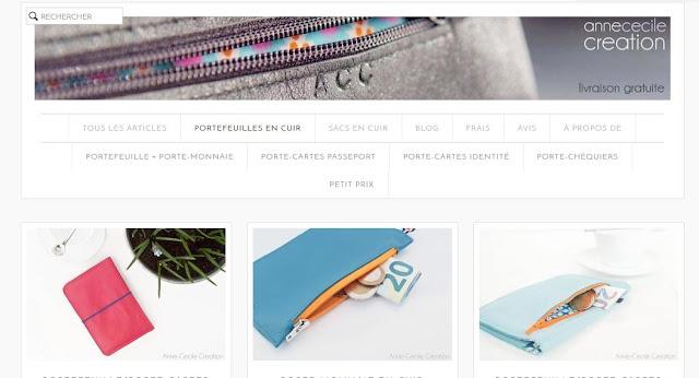 page accueil creationacc.com