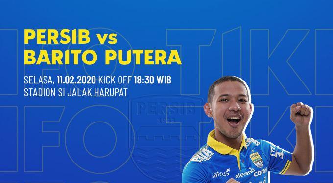 Jadwal Persib Bandung vs Barito Putera dan Harga Tiket