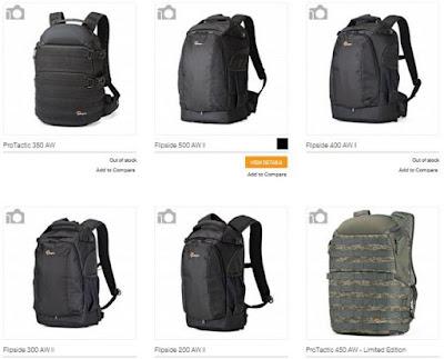Tas Model Backpack Dari Lowepro