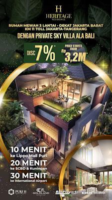 puri 11 residence cluster heritage