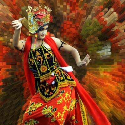 Penari Gandrung ikon brand Majestic Banyuwangi