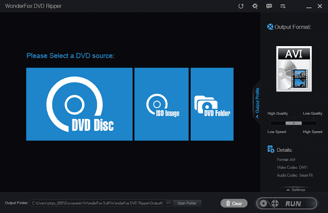 Screenshot WonderFox DVD Ripper Pro 14.0 Full Version