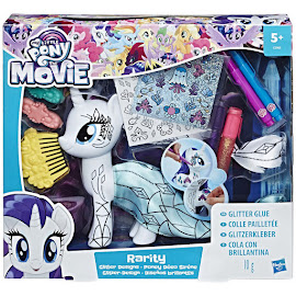 MLP Deco Party Rarity Brushable Pony