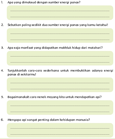 Kunci Jawaban Tema 6 Kelas 5 Halaman 3