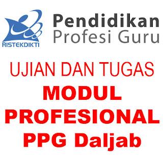 Jawaban Tugas dan Ujian Formatif dan Sumatif Modul 1 Profesional PPG Dalam Jabatan