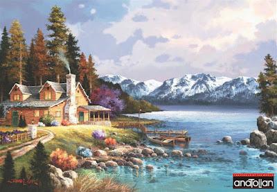 Anatolian Dağ evi 3534