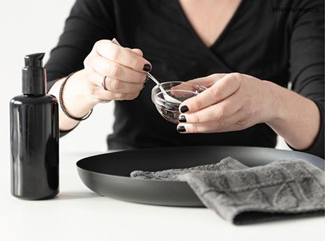 Peeling aus Kaffeesatz selber machen - das Rezept und mehr Beautytipps findest du im MINIMALmagazin - minimalistisch leben und wohnen