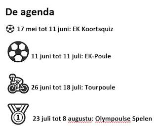 Agenda Hendrie Schrijft quizzen