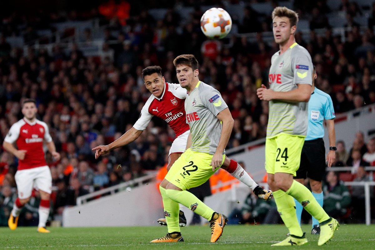 Koln vs Arsenal EN VIVO por la UEFA Europa League