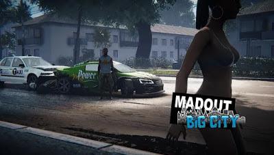 تحميل لعبة العالم المفتوح MadOut2 BigCityOnline النسخة المهكرة للاجهزة الاندرويد باخر تحديث
