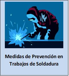Medidas preventivas en soldadura