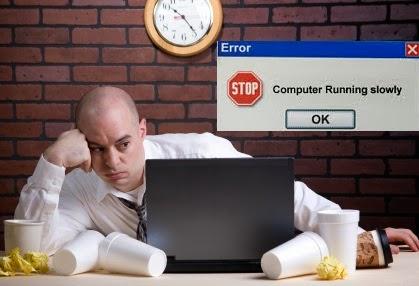 slower laptop