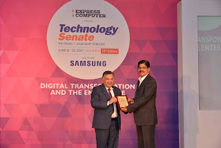 The Muthoot Group wins the coveted Enterprise Uptime Champion Award 2017 at the Technology Senate