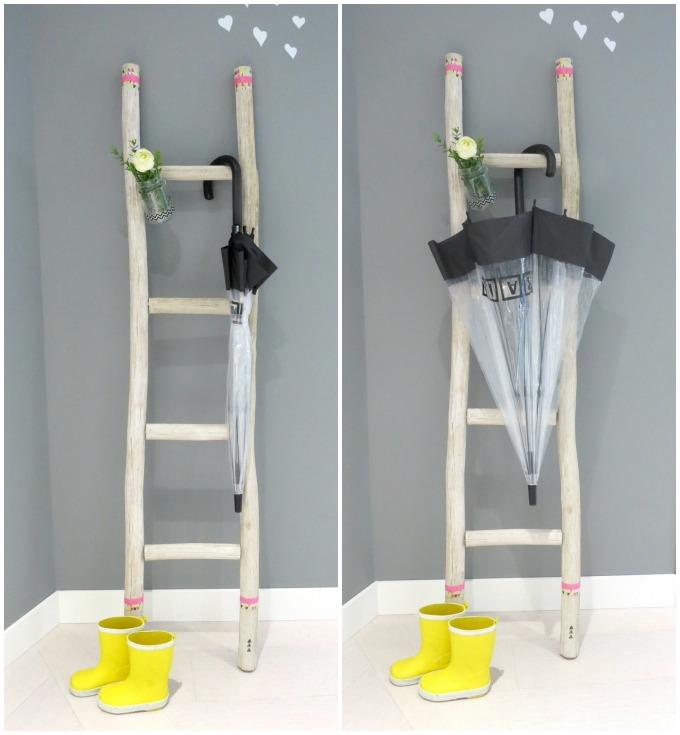 tendencia de moda paraguas transparentes