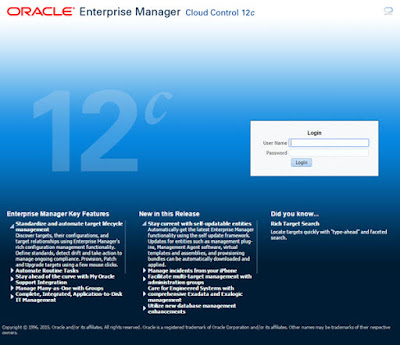 Oracle Enterprise Manager Cloud Control 12c, Oracle Database Tutorials and Materials, Oracle Database Certifications, Oracle Database Learning
