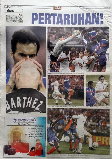 EURO 2000 FINAL FRANCE VS ITALIA