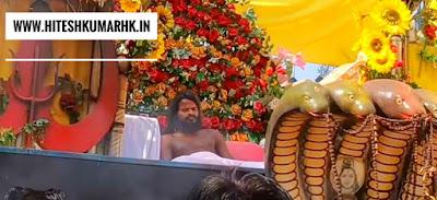 14 वर्ष की उम्र से तपस्या में लीन है बाबा सत्यनारायण, कोसमनारा, रायगढ़(छ.ग)