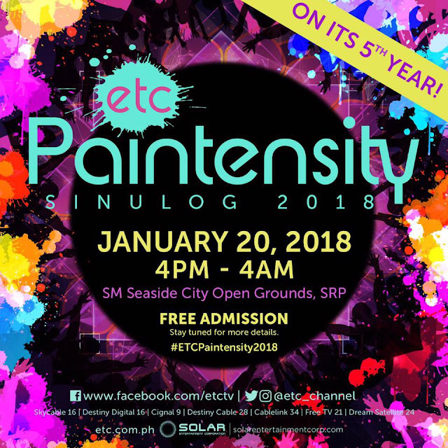 ETC Paintensity Sinulog 2018