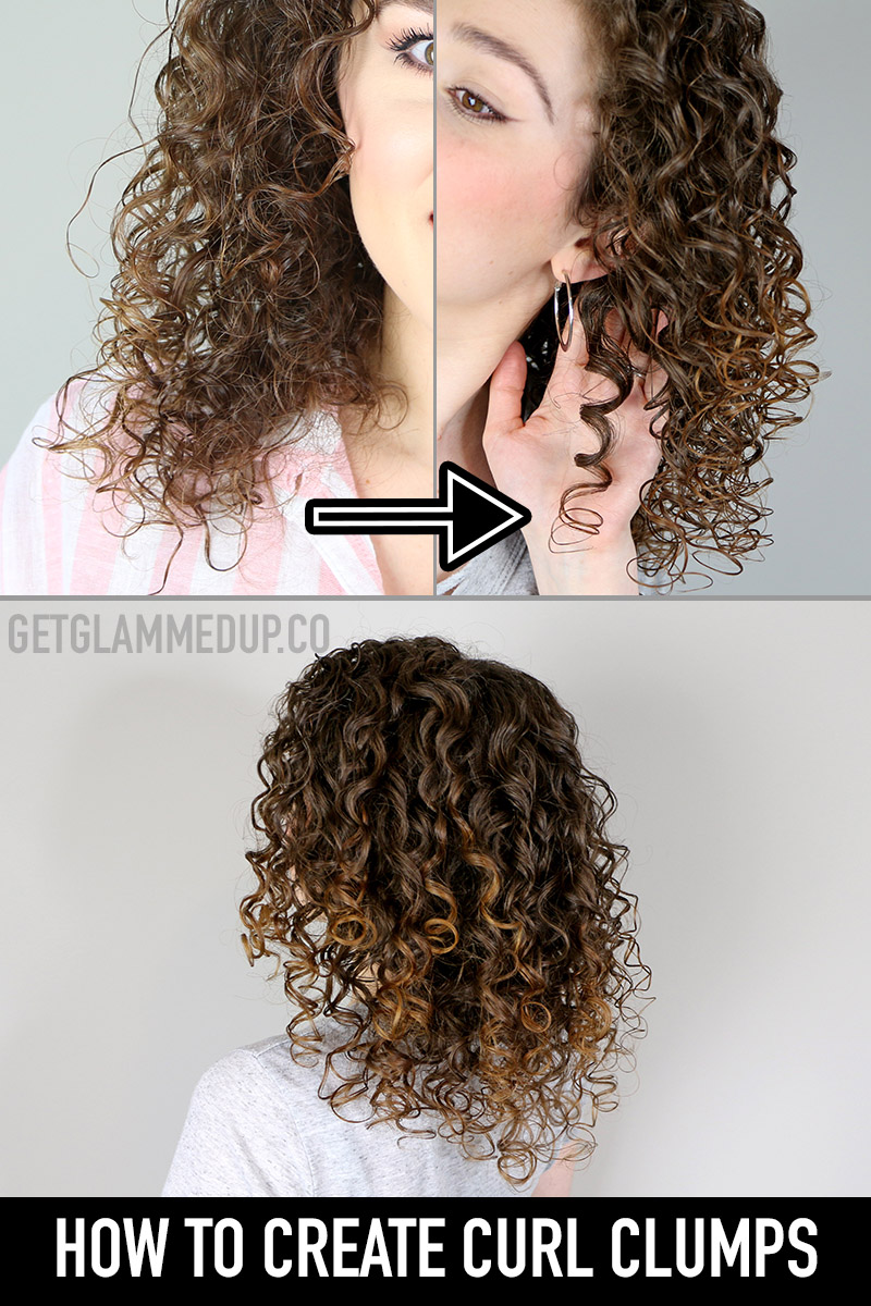How to Clump Curls