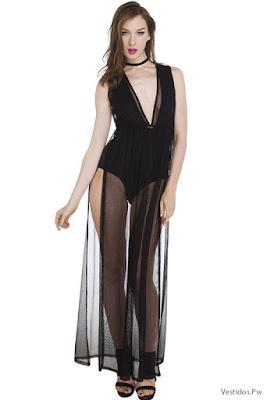 Vestidos con Transparencias