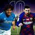 Leo Messi a casa di Maradona