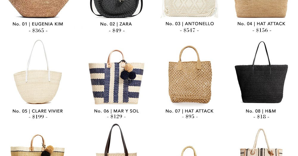Shopping File: 20 Beach Bags for Every Budget | THE VAULT FILES
