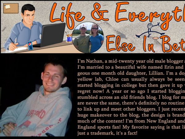 Sponsor Highlight: Nathan {Life & Everything Else In Between}