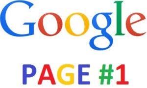 Rangking 1 di halaman google
