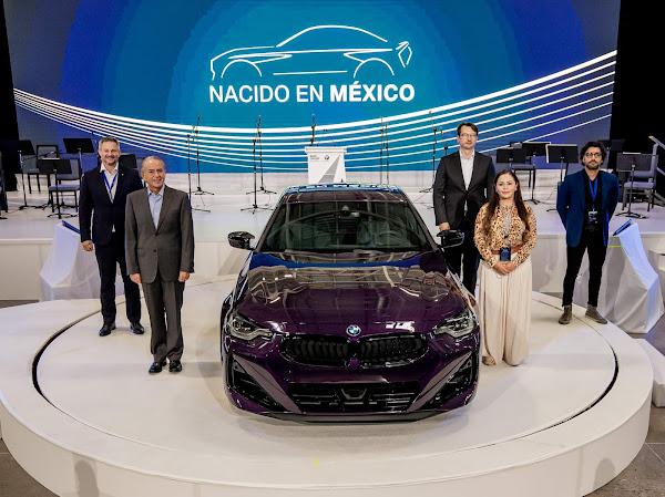 Novo BMW Série 2 Coupé 2023 tem produção iniciada no México