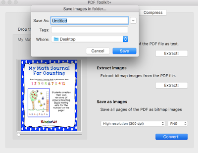 Save your pdf to a folder.
