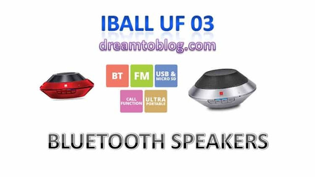 iBall UF 03 PORTABLE BLUETOOTH SPEAKER