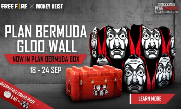 Garena Free Fire 2020 Plan Bermuda Gloo Wall Event